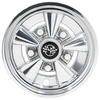 10 Inch Rally Classic Chrome Wheel Cover (Universal Fit)