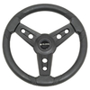 Gussi Lugana Black Steering Wheel For All Club Car DS Models