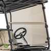 Buggies Unlimited Clear Folding Windshield - Club Car Precedent,Onward,Tempo