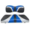 Red Dot® Blade Front Seat Covers for Yamaha Drive/Drive2 - Alpha Blue/Silver/Black Carbon Fiber