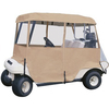 Tan 4-sided 2-Passenger Enclosure (Universal Fit)