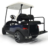 GTW Mach1 Steel Club Car DS Black Rear Flip Seat