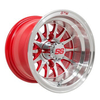 GTW Medusa 10 inch Machined & Red Wheel (3:4 Offset)