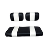 Yamaha Black / White Seat Cover Set (Models G2/G9)