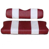 Yamaha Red / White Seat Cover Set (Models G29/DRIVE)