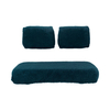 3-Piece Sheepskin Green Seat Covers (Fits Select Club Car / Yamaha Models)