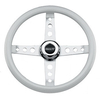 E-Z-GO Classic White Steering Wheel (Fits 1975-Up)