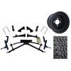 "Club Car Precedent Jake's 6"" Double A-Arm  Lift / Wheel & Tire Combo (Fits 2004-Up)"