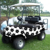 Soccer Golf Cart Body Wrap (Universal Fit)