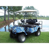 Blue Camo Golf Cart Body Wrap (Universal Fit)