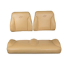 E-Z-GO RXV Tan Suite Seats (Fits 2008-2015)