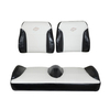Club Car Precedent Black/White Suite Seats (Fits 2012-Up)