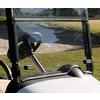 Tinted E-Z-GO RXV Folding Windshield (Fits 2008-up)