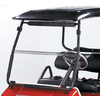 Clear Columbia Par-Car Fold-Down Windshield (Models Eagle P5)