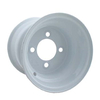 10x8 White Steel Wheel (3:5 Offset)