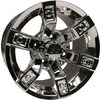 12x7 Mirror Brute Wheel (3:4 Offset)