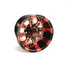 10x7 Red / Black Tempest Wheel (3:4 Offset)