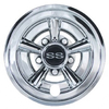 "8"" Chrome ""SS"" Wheel Cover"