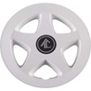 "8"" White 5-Spoke Wheel Cover"
