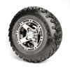 Set Of (4) 8'' Ranger Wheels On A/T Tires (No Lift Required)