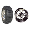 "Set Of (4) 12"" Storm Trooper Wheels On A/T Tires (Lift Required)"