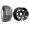 "Set Of (4) 14"" Barracuda Wheels On A/T Tires (Lift Required)"