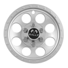 10″ Silver Metallic Rally Wheel Cover