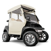 Ivory 3-Sided Straight Back Over The Top Club Car Precedent Enclosure (Fits 2004-Up)