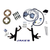 "Jake's Club Car DS 4"" Lifted Front Disc Brake Kit (Fits 2004.5-2008.5)"