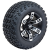 Set of (4) 12 inch Brute Wheels on A/T Tires (Lift Required)