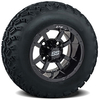 Set of (4) 10 inch Storm Trooper Wheels on Sahara Classic A/T Tires