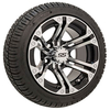 Set Of (4) 12″ GTW Specter Wheels On GTW Fusion Street Tires
