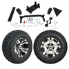 "GTW 5"" Lift w/12"" Vampire Machined/Black Wheel & Recon A/T Tire For Yamaha (G29/Drive)"