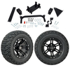 "GTW 5"" Lift w/12"" Specter Matte Black Wheel & Recon A/T Tire For Yamaha (G29/Drive)"