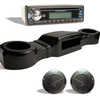 Black Complete Overhead Radio Kits (Select Model)