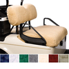 E-Z-GO TXT / RXV Sheepskin Seat Cover Set (Select Color)