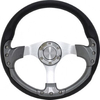 "Club Car DS Pursuit 14"" Carbon-Fiber Steering Wheel W/ Kit (Fits 1982-Up)"