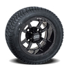 Set of (4) 10 inch GTW Storm Trooper Wheels on Lo-Pro Street Tires