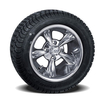 Set of (4) 10 inch Godfather Wheels on Lo-Profile Tires