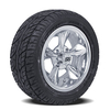 Set of (4) 12 inch Godfather Wheels on Lo-Profile Tires