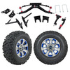 "GTW 6"" Lift w/12"" Nemesis Metallic Wheel & Barrage Mud Tire For Club Car DS (2004.5-Up)"