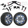 "GTW 6"" Lift w/14"" Nemesis Metallic Wheel & Barrage Mud Tire For Club Car DS (2004.5-Up)"