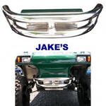 Jake's Stainless Club Car DS & Carryall Mega Front Bumper (Fits 1981-Up)