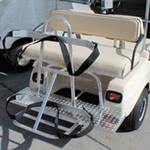 4-Passenger Step Plate - Golf Cart Bag Rack (Universal Fit)