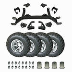 "5"" E-Z-GO Electric Lift Kit Combo (Fits 2001.5 - Up)"