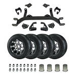 """5"""" Lift Kit Combo For E-Z-GO 01.5-Current Electric Model"""