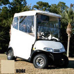3 Sided Over-The-Top Enclosure- E-Z-GO RXV (Beige)