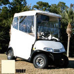 3 Sided Over-The-Top Enclosure- E-Z-GO RXV (Ivory)