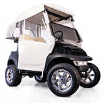 E-Z-GO RXV White 3-Sided Over-The-Top Enclosure (Fits 2008-Up)