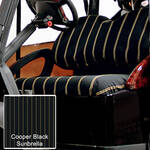 Sunbrella Seat Covers Cooper Black